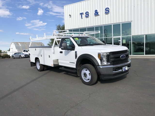 2018 F-550 Regular Cab DRW 4x4,  Harbor Service Body #F71956 - photo 3