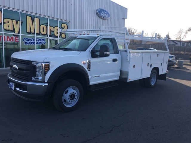 2018 F-550 Regular Cab DRW 4x4,  Harbor Service Body #F71956 - photo 6