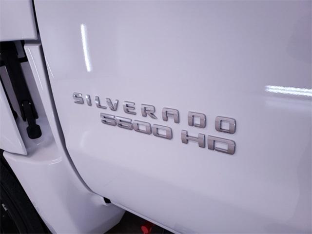 2019 Silverado Medium Duty Regular Cab DRW 4x2, Action Fabrication Platform Body #TC010701 - photo 6