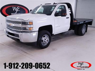 2019 Silverado 3500 Regular Cab DRW 4x4,  CM Truck Beds RD Model Platform Body #TC012895 - photo 1