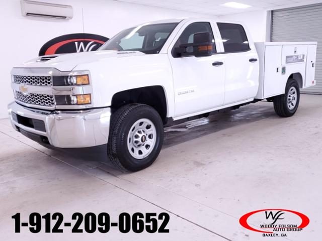 2019 Silverado 3500 Crew Cab 4x4,  Reading SL Service Body #TC021394 - photo 1