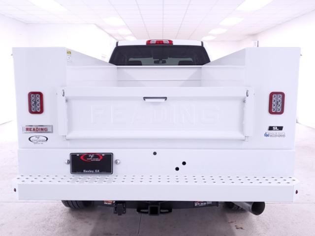 2019 Silverado 3500 Crew Cab 4x4,  Reading SL Service Body #TC021394 - photo 7