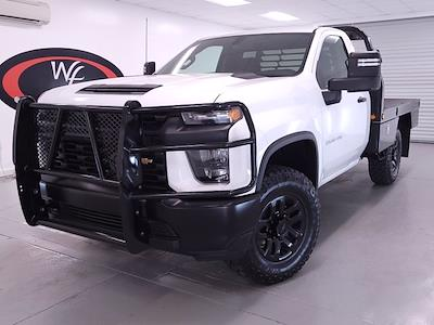2021 Chevrolet Silverado 2500 Regular Cab 4x4, DewEze Platform Body #TC030117 - photo 3