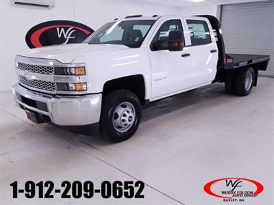 2019 Silverado 3500 Crew Cab DRW 4x2,  CM Truck Beds RD Model Platform Body #TC032092 - photo 1