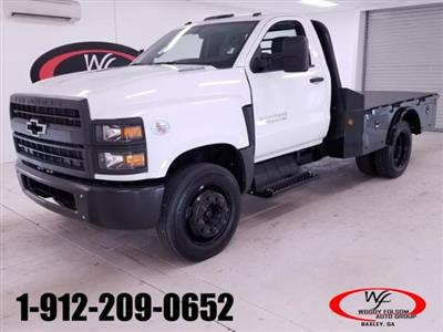 2019 Chevrolet Silverado Medium Duty Regular Cab DRW RWD, Norstar ST Platform Body #TC032392 - photo 1