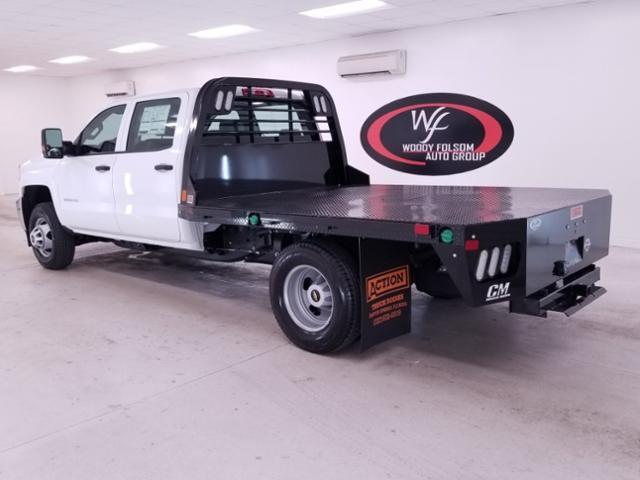 2019 Silverado 3500 Crew Cab DRW 4x4,  CM Truck Beds RD Model Platform Body #TC042397 - photo 2