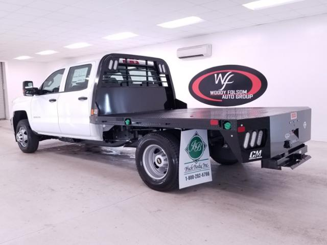 2019 Silverado 3500 Crew Cab DRW 4x4,  CM Truck Beds RD Model Platform Body #TC042691 - photo 2