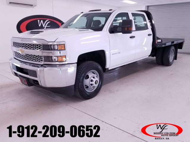 2019 Silverado 3500 Crew Cab DRW 4x4,  CM Truck Beds Platform Body #TC051595 - photo 1