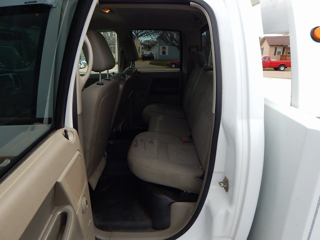 2007 Ram 3500 Quad Cab DRW 4x4,  Hauler Body #FP12789 - photo 12