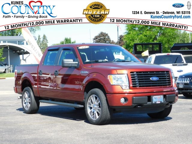 2014 F-150 SuperCrew Cab 4x4,  Pickup #FT11325B - photo 1