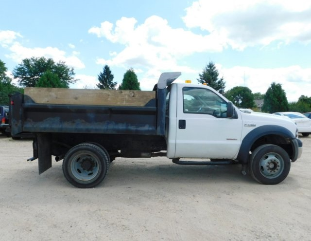 2006 F-450 Regular Cab DRW 4x4,  Dump Body #FT11621A - photo 3