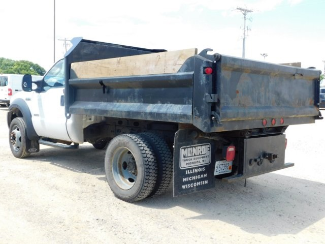 2006 F-450 Regular Cab DRW 4x4,  Dump Body #FT11621A - photo 4