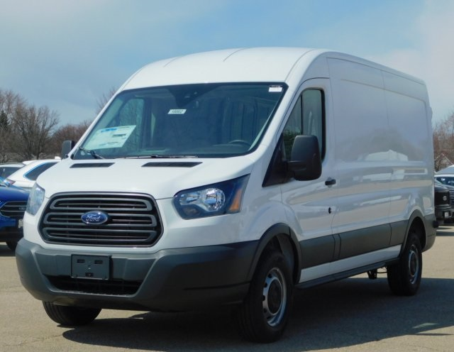 2018 Transit 250 Med Roof 4x2,  Empty Cargo Van #FT11733 - photo 9
