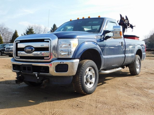 2011 F-250 Regular Cab 4x4,  Western Snowplow Pickup #FT11849A - photo 5