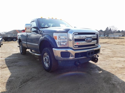 2011 F-250 Regular Cab 4x4,  Western Snowplow Pickup #FT11849A - photo 1