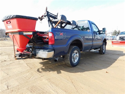 2011 F-250 Regular Cab 4x4,  Western Snowplow Pickup #FT11849A - photo 2