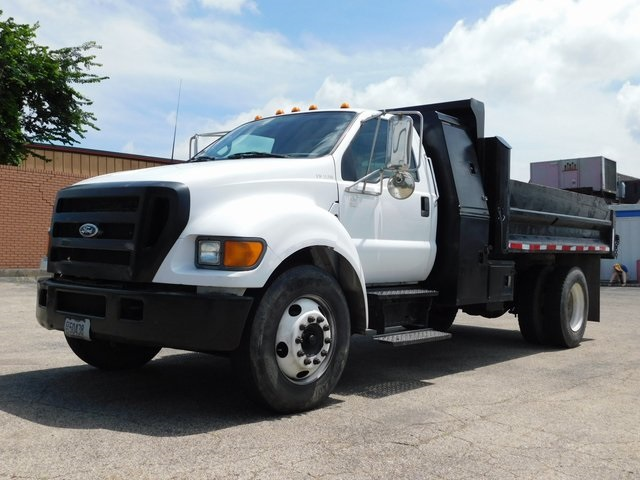 2004 F-650 Regular Cab DRW 4x2,  Dump Body #FT11879N - photo 5