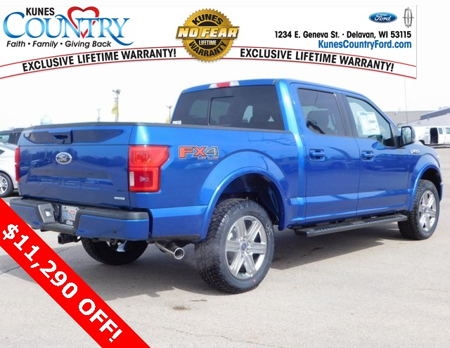 2018 F-150 SuperCrew Cab 4x4,  Pickup #FT11880 - photo 2