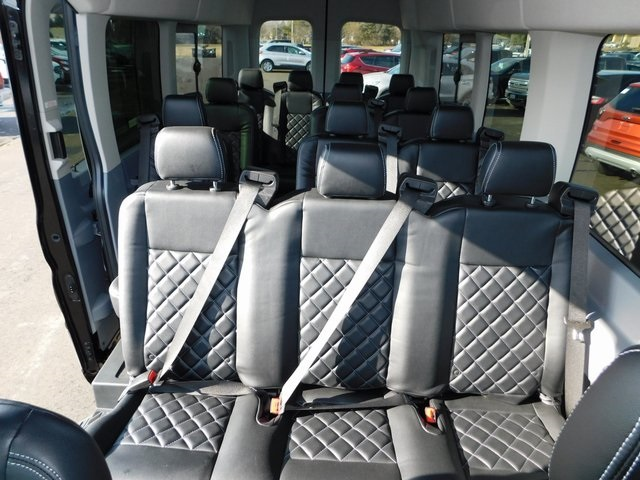 2018 Transit 350 HD High Roof DRW 4x2,  Passenger Wagon #FT12102 - photo 10