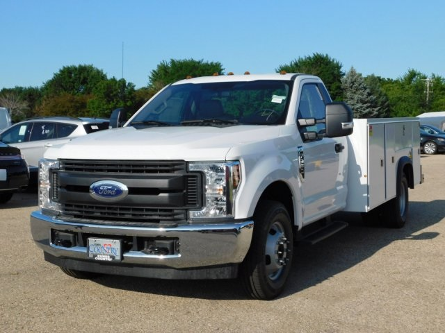2018 F-350 Regular Cab DRW 4x2,  Monroe Service Body #FT12155 - photo 3