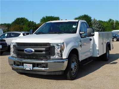 2018 F-350 Regular Cab DRW 4x2,  Monroe MSS II Service Body #FT12155 - photo 1
