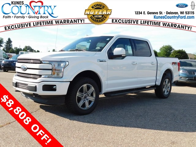 2018 F-150 SuperCrew Cab 4x4,  Pickup #FT12195 - photo 10