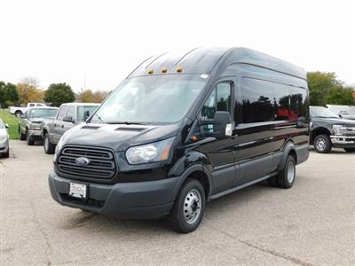 2018 Transit 350 HD High Roof DRW 4x2,  Passenger Wagon #FT12227 - photo 8