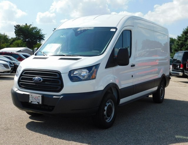 2018 Transit 250 Med Roof 4x2,  Empty Cargo Van #FT12266 - photo 9