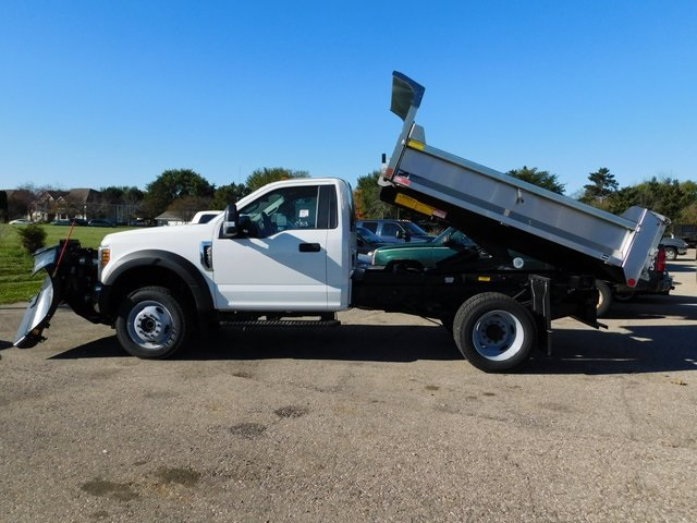 2019 F-550 Regular Cab DRW 4x4,  Monroe Dump Body #FT12279 - photo 11