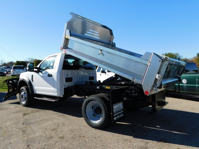 2019 F-550 Regular Cab DRW 4x4,  Monroe Dump Body #FT12279 - photo 12