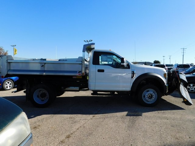 2019 F-550 Regular Cab DRW 4x4,  Monroe Dump Body #FT12279 - photo 3