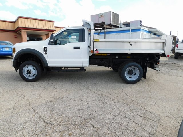 2019 F-550 Regular Cab DRW 4x4,  Monroe Dump Body #FT12305 - photo 12
