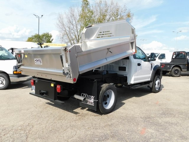 2019 F-550 Regular Cab DRW 4x4,  Monroe Dump Body #FT12305 - photo 2