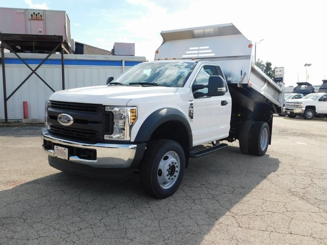 2019 F-550 Regular Cab DRW 4x4,  Monroe Dump Body #FT12305 - photo 8