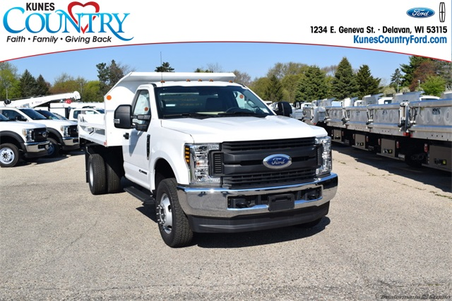 2019 F-350 Regular Cab DRW 4x4,  Monroe MTE-Zee Dump Body #FT12346 - photo 1