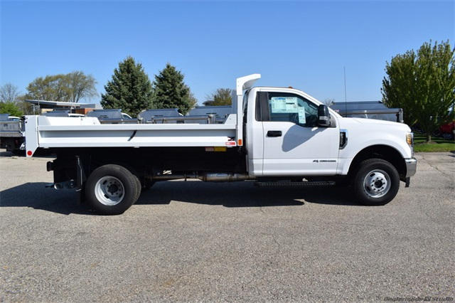 2019 F-350 Regular Cab DRW 4x4,  Monroe Dump Body #FT12346 - photo 3
