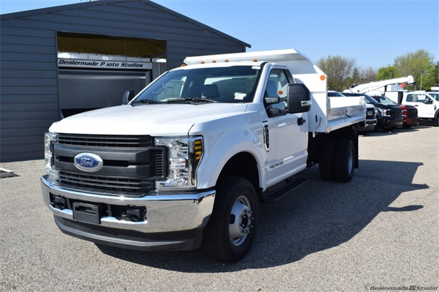 2019 F-350 Regular Cab DRW 4x4,  Monroe Dump Body #FT12346 - photo 5