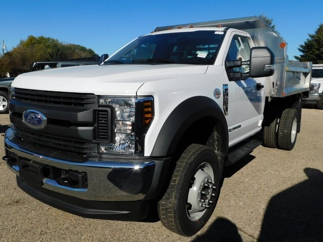 2019 F-450 Regular Cab DRW 4x4,  Monroe Dump Body #FT12434 - photo 9