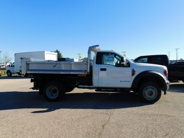 2019 F-450 Regular Cab DRW 4x4,  Monroe Dump Body #FT12434 - photo 3