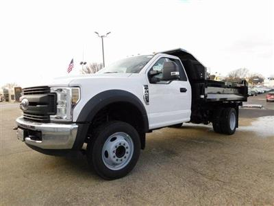 2019 F-450 Regular Cab DRW 4x2,  Knapheide Drop Side Dump Body #FT12477 - photo 8