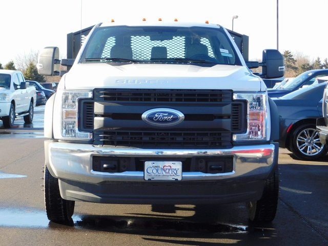 2019 F-550 Regular Cab DRW 4x4,  Monroe Platform Body #FT12580 - photo 5