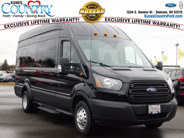 2019 Transit 350 HD High Roof DRW 4x2,  Passenger Wagon #FT12592 - photo 1