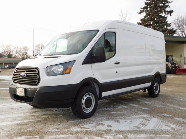 2019 Transit 350 Med Roof 4x2,  Empty Cargo Van #FT12594 - photo 9