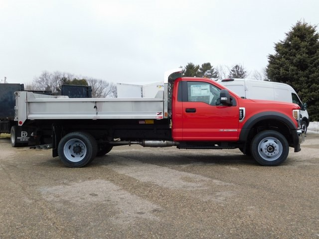 2019 F-550 Regular Cab DRW 4x4,  Monroe Dump Body #FT12617 - photo 2