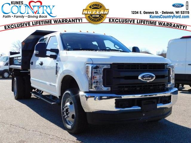 2019 F-350 Crew Cab DRW 4x4,  Monroe Dump Body #FT12774 - photo 1