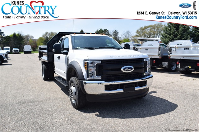 2019 F-550 Super Cab DRW 4x4,  Knapheide Dump Body #FT12865 - photo 1