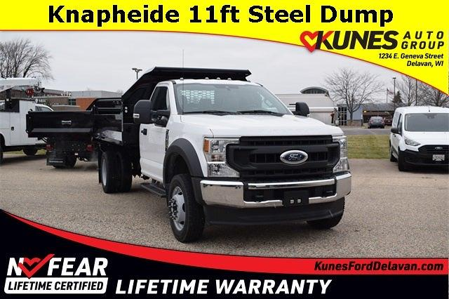 2020 Ford F-550 Regular Cab DRW 4x4, Knapheide Dump Body #FT14553 - photo 1