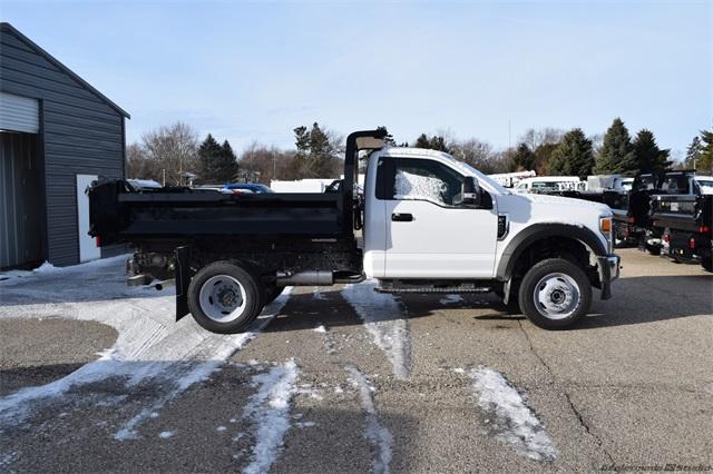 2020 Ford F-450 Regular Cab DRW 4x4, Knapheide Drop Side Dump Body #FT14565 - photo 3