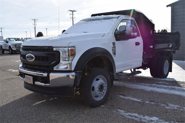 2020 Ford F-450 Regular Cab DRW 4x4, Knapheide Drop Side Dump Body #FT14565 - photo 5