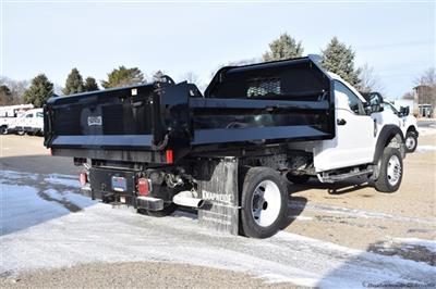 2020 Ford F-450 Regular Cab DRW 4x4, Knapheide Drop Side Dump Body #FT14565 - photo 2